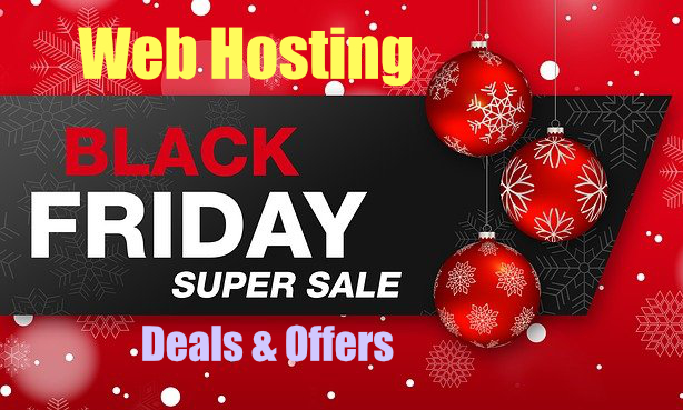 Black Friday web hosting deals India 2020